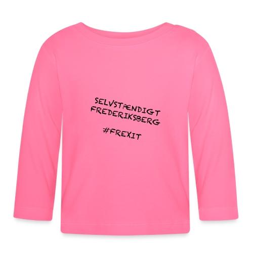 Selvstændigt Frederiksberg #FREXIT - Langærmet babyshirt