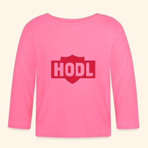 HODL TO THE MOON - Vauvan pitkähihainen paita