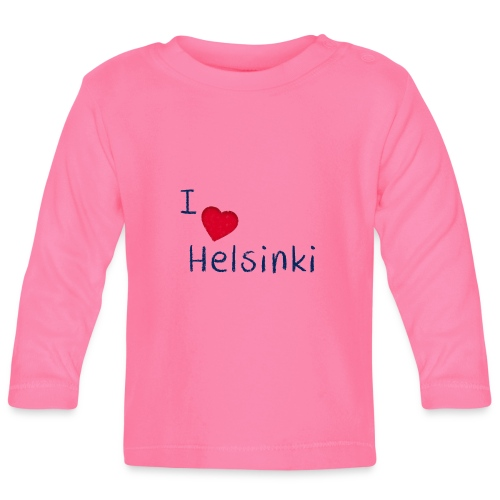 I Love Helsinki - Vauvan pitkähihainen paita