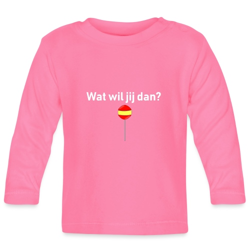 wat wil jij dan - T-shirt