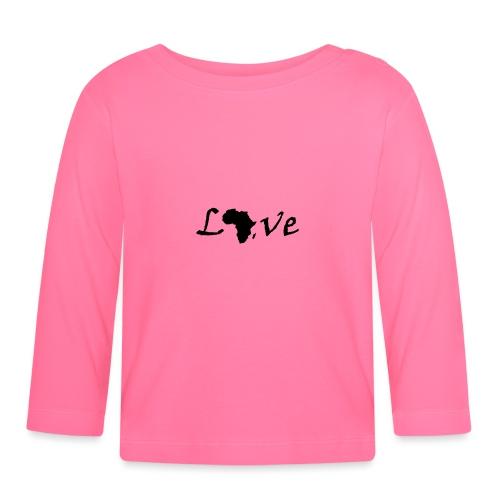 Love Africa - Baby Langarmshirt