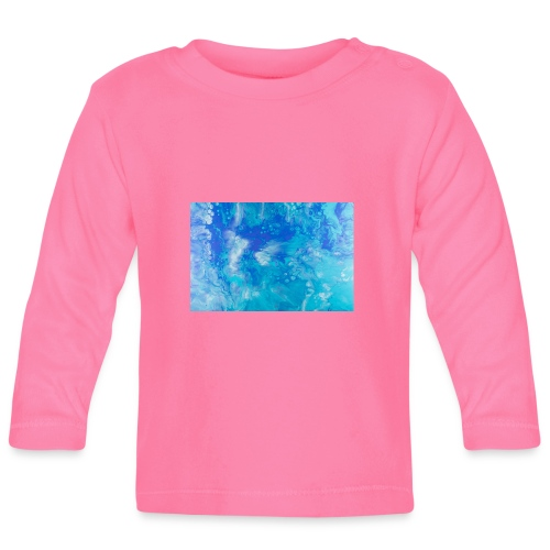 onde - Maglietta a manica lunga per bambini