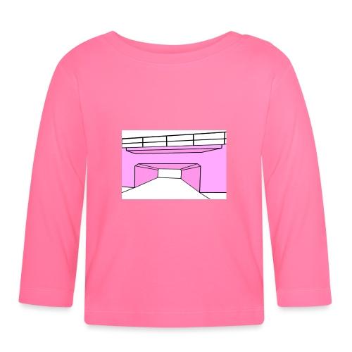 Pink Tunnel - Långärmad T-shirt baby