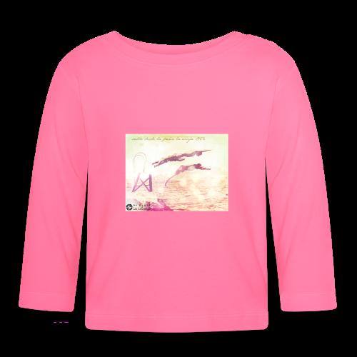 Salto desde la Peña la Vieja - Camiseta manga larga bebé