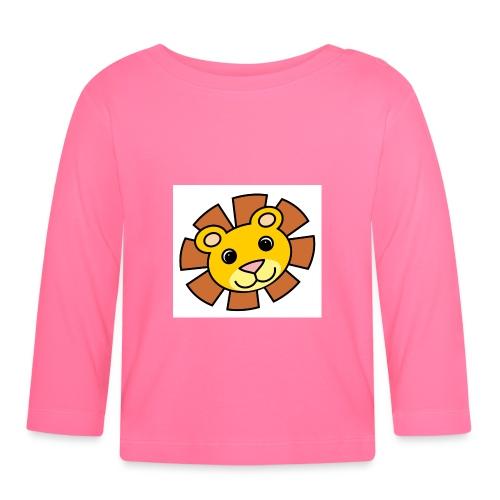 funimals_lejon_f--rg_-2- - Långärmad T-shirt baby