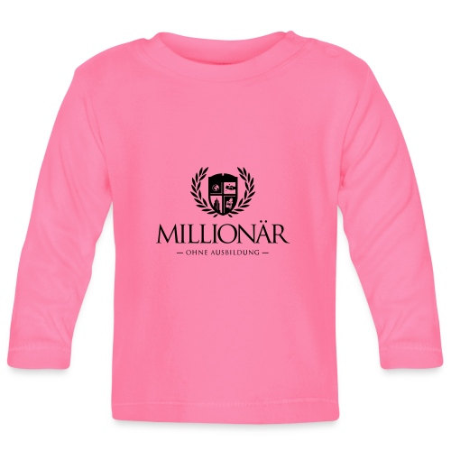 Millionär ohne Ausbildung Jacket - Baby Langarmshirt
