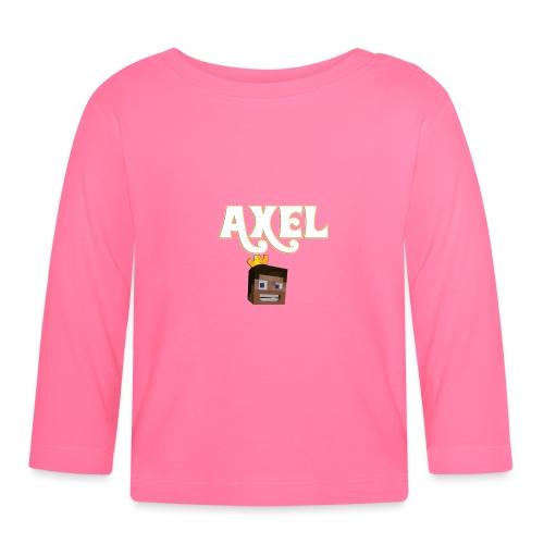 Axel Gam3r - Maglietta a manica lunga per bambini