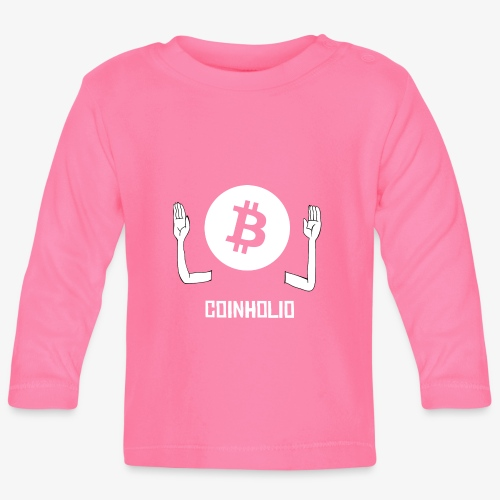 HODL coin holio-w - Baby Long Sleeve T-Shirt
