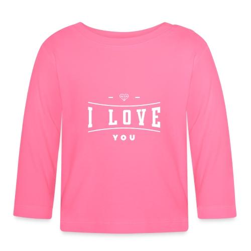 i love you3 - Koszulka niemowlęca z długim rękawem