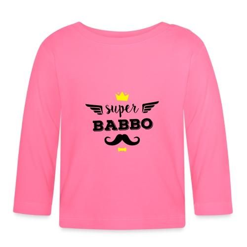 Super Babbo - Maglietta a manica lunga per bambini
