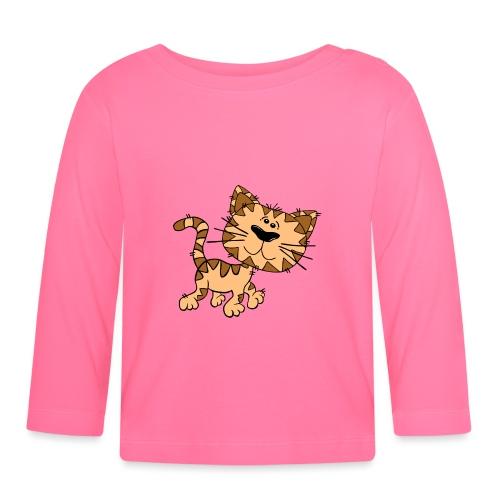 Cat - Baby Langarmshirt