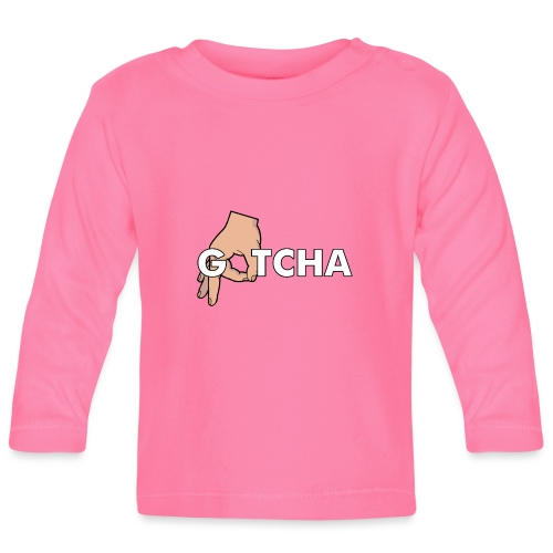 Gotcha Made You Look Funny Finger Circle Hand Game - Baby Long Sleeve T-Shirt
