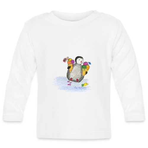 PNG028_2 - Baby Long Sleeve T-Shirt
