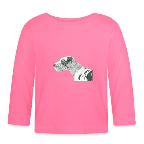 grand danios harlequin - Langærmet babyshirt