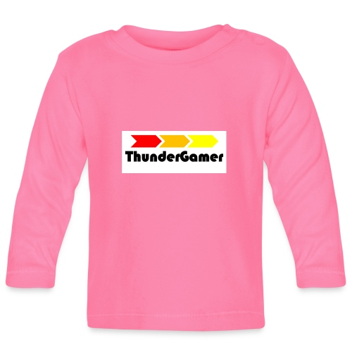 Reusable Thunder Gamer Cup - Baby Long Sleeve T-Shirt