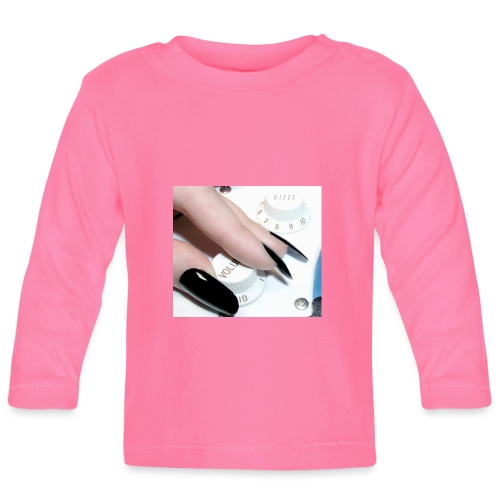 Gothic guitar girl - Koszulka niemowlęca z długim rękawem