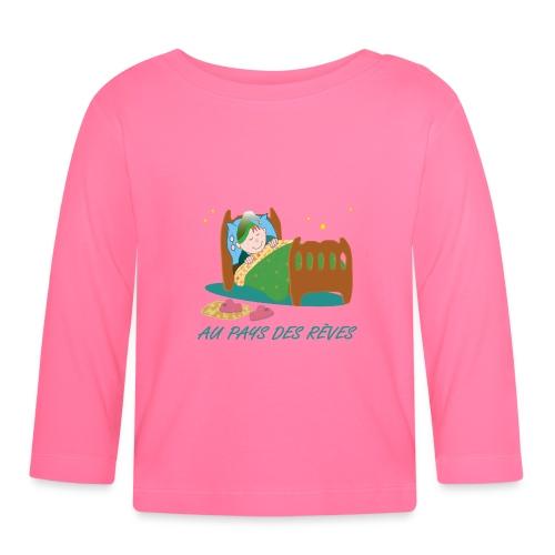 Personnage endormi - T-shirt manches longues Bébé