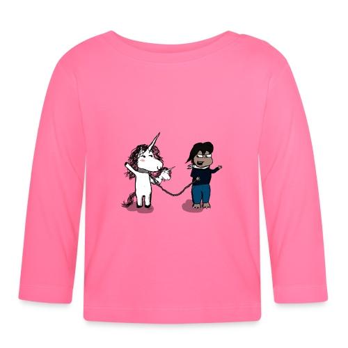 Come fare un amico? - Maglietta a manica lunga per bambini