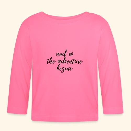 Adventure - Abenteuer - Baby Langarmshirt