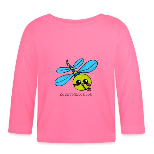 Lully la libellule - T-shirt manches longues Bébé