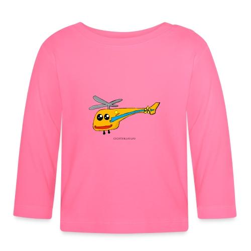 Bob l'hélicoptère - T-shirt manches longues Bébé