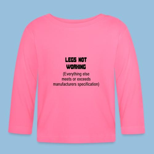 LEGSNOTWORK - T-shirt