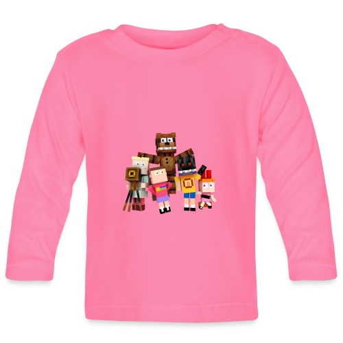 Withered Bonnie Productions - Meet The Gang - Baby Long Sleeve T-Shirt