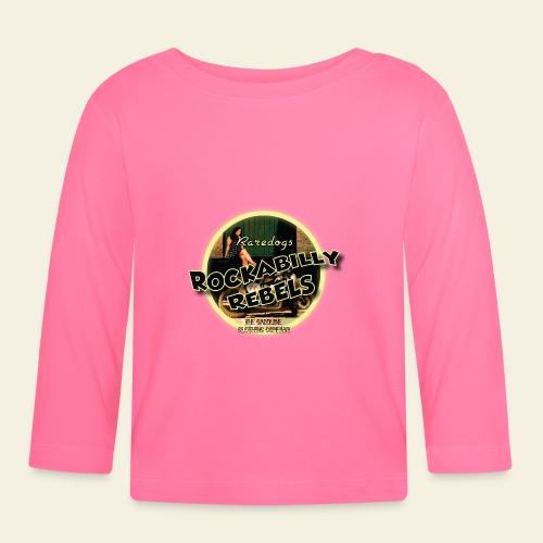 rockabilly rebels pinup - Langærmet babyshirt