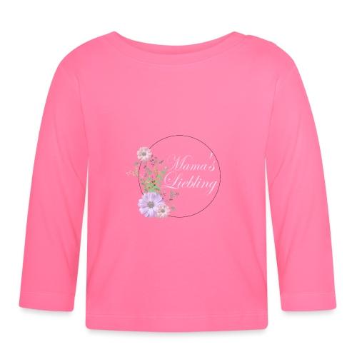 Mama's Liebling - Baby Langarmshirt