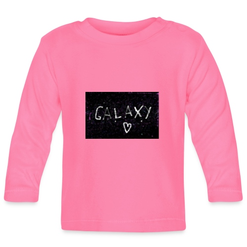 galaxy - Baby Langarmshirt