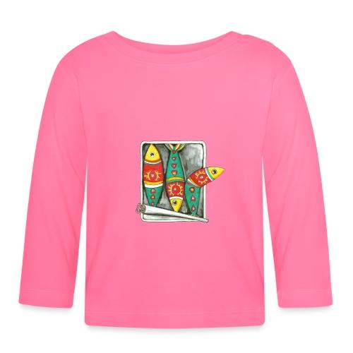 Les sardines du Portugal - T-shirt manches longues Bébé
