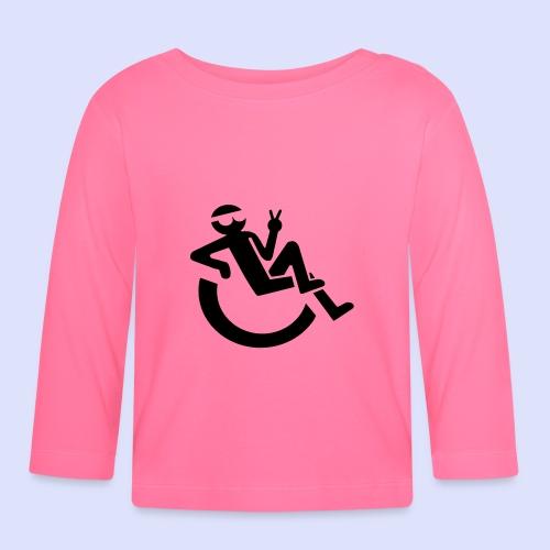 Relaxte rolstoel gebruiker - T-shirt