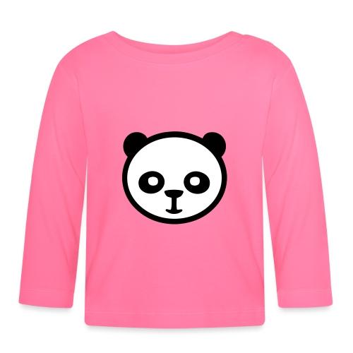 Panda, Giant Panda, Giant Panda, Bamboo Bear - Koszulka niemowlęca z długim rękawem