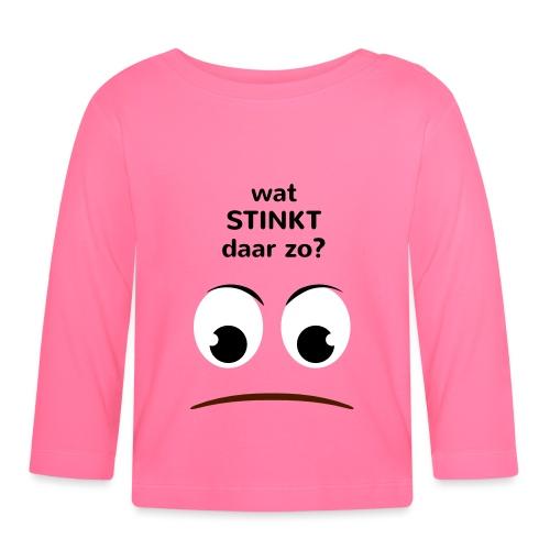 Grappige Rompertjes: Wat stinkt daar zo - T-shirt