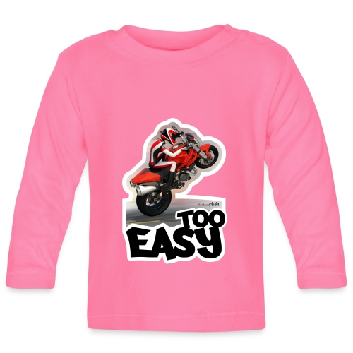 Ducati Monster Wheelie A - Camiseta manga larga bebé