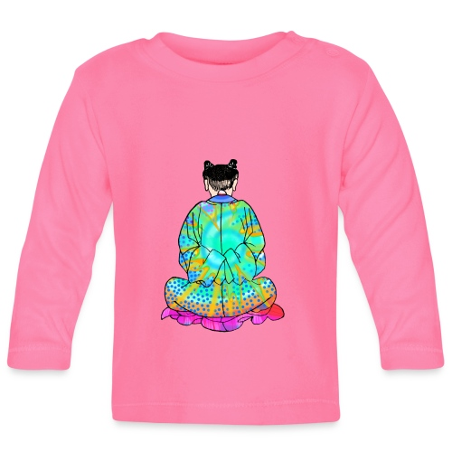 Qigong exercise for pain in the legs - Baby Long Sleeve T-Shirt