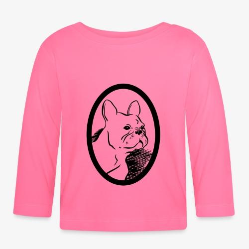 Frenchie - Långärmad T-shirt baby