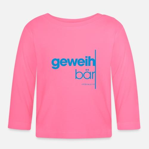 geweihbär 2019 - Baby Langarmshirt