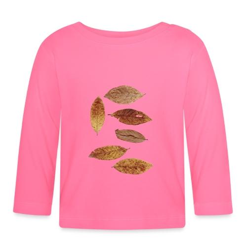 Bunte Blätter - Baby Langarmshirt