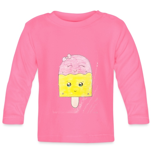 Kids for Kids: Icecream - Baby Langarmshirt