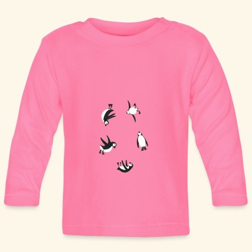 Pinguine - Baby Langarmshirt