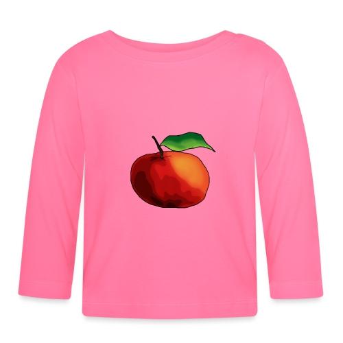 mela-png - Maglietta a manica lunga per bambini