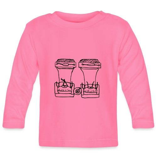 Seeing Double - Baby Long Sleeve T-Shirt