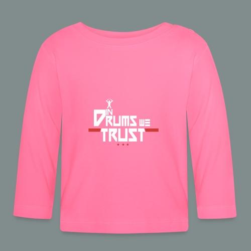 In drums we trust - T-shirt manches longues Bébé