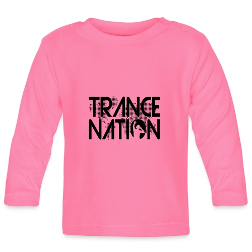 Trance Nation (Black) - Långärmad T-shirt baby