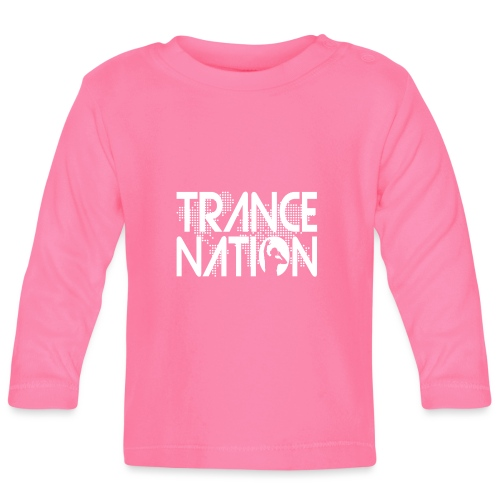Trance Nation (White) - Långärmad T-shirt baby