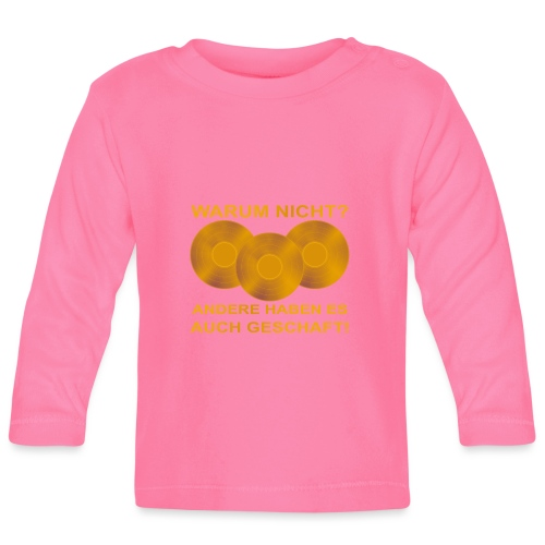 Goldene Schallplatte - Baby Langarmshirt