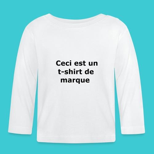 t-shirt2 - T-shirt manches longues Bébé