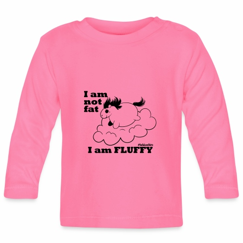 fluffy_baby - Baby Langarmshirt