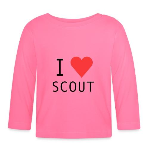 I love scout - T-shirt manches longues Bébé